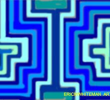 ( I DISLIKE THE   BLUES) ERIC WHITEMAN  ART  by eric  whiteman