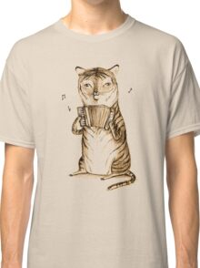 Accordion Tiger Classic T-Shirt