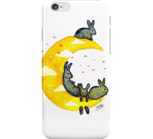 Hanging on the Moon iPhone Case/Skin