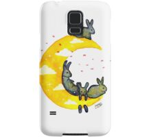 Hanging on the Moon Samsung Galaxy Case/Skin