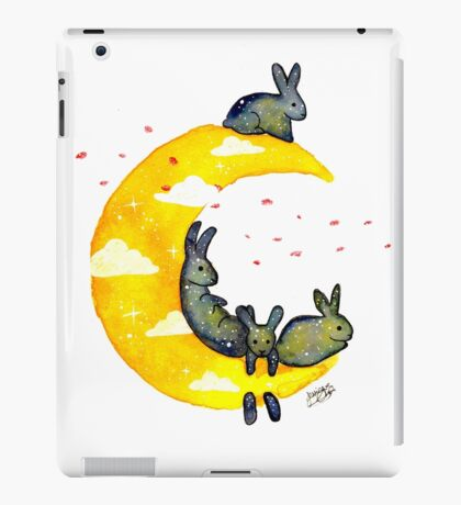 Hanging on the Moon iPad Case/Skin