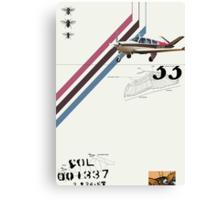 Flight 1 Canvas Print