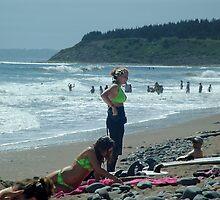 We Love The Beach by George Cousins