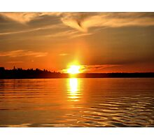 Ohh.. Those Sunsets Photographic Print