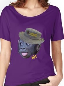 Hi! says the ranger monkey Women's Relaxed Fit T-Shirt
