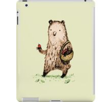 Apple Pickin' Bear iPad Case/Skin