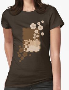 Brown flowers T-Shirt
