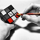 Rubik's Cube (Starting Over) by James Iorfida