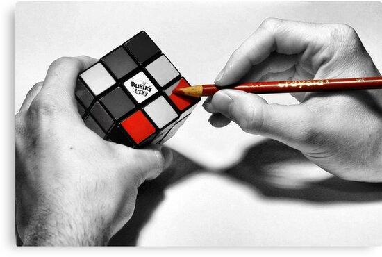 Rubik's Cube (Starting Over) by James Iorfida