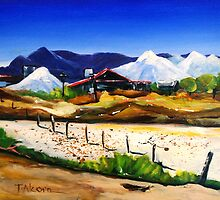 Salt Works - Port Alma by Therese Alcorn