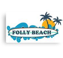 Folly Beach - South Carolina. Canvas Print