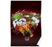 Fabulous Flowers Poster