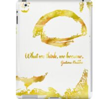 Gautama Buddha Merigold iPad Case/Skin