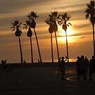 Sunset on Venice Beach by Brian Willocks