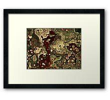 Frogs in a Blender Framed Print