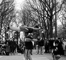 HANGIN' IN CENTRAL PARK by KENDALL EUTEMEY