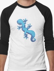 Blue Gecko Men's Baseball ¾ T-Shirt