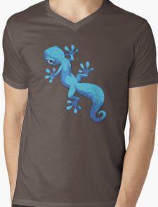 Blue Gecko Mens V-Neck T-Shirt