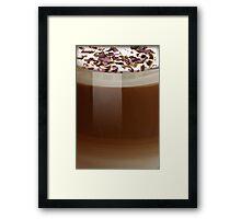 Cafe Late Framed Print