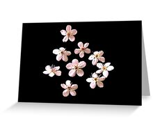 Bradford Pear Blossoms - Floating Greeting Card