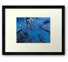 Blue heaven on earth Framed Print