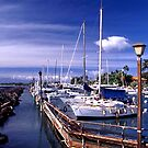 Lahaina Harbor by Robert Yone