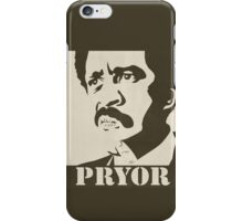 Richard Pryor Vintage Poster iPhone Case/Skin