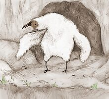 Vulture Chick by Sophie Corrigan