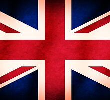 United Kingdom Union Jack Grunge Flag by TigerLynx