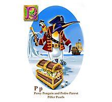 Pedro and Percy Photographic Print
