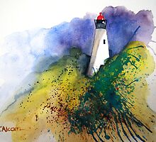 Lighthouse by Therese Alcorn