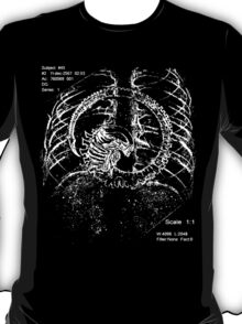 Alien chestburster (improved) T-Shirt