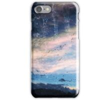 blue skys summer flys  iPhone Case/Skin