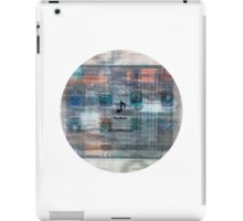 Damaged glitchy displays turned into art iPad Case/Skin