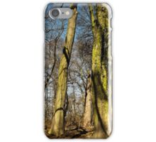 Green tall guardians  iPhone Case/Skin