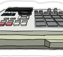 Akai MPC 2000xl Sticker