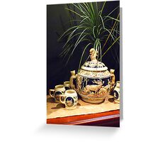 German Pottery © Greeting Card