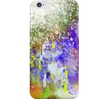 Decorative Abstract with White Glare iPhone Case/Skin