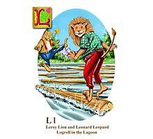 Leroy and Leonard Photographic Print