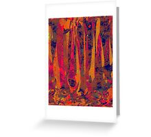 0917 Abstract Thought Greeting Card