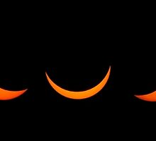 Solar eclipse as visible from the United Kingdom  by kingssummers