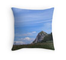 Chateau de Montsegur Throw Pillow