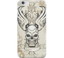 Winged Skull iPhone Case/Skin