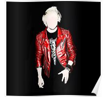 Red Leather Poster