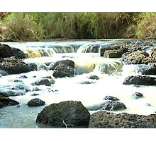 Card Creek in flow Photographic Print