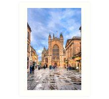 The Abbey Church of Saint Peter and Saint Paul - Bath, England Art Print