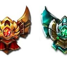 League Of Legends Medals by ToiletBabe