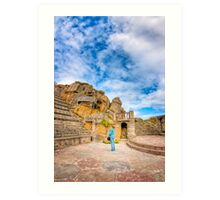 All The World's A Stage - Minack Theatre Art Print