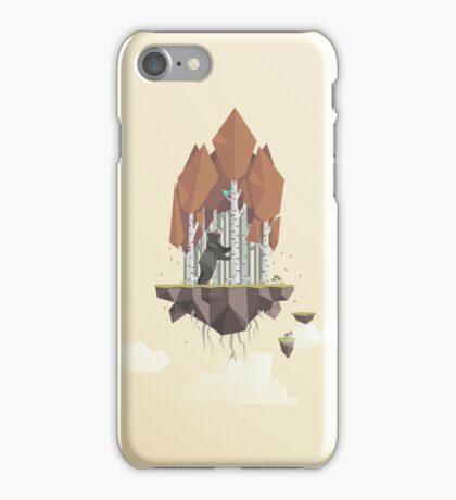 Low Poly Autumn Bear iPhone Case/Skin