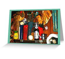Eclectic Art Design Greeting Card
